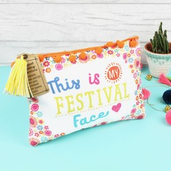'My Festival Face' Make Up Pouch