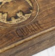 Personalised Carved Wooden Elephant Box