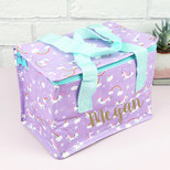 Personalised Magical Unicorn and Rainbow Lunch Bag