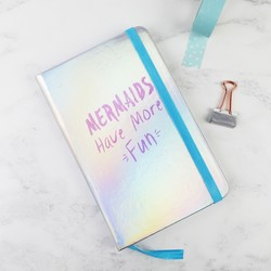 'Mermaids Have More Fun' A6 Notebook