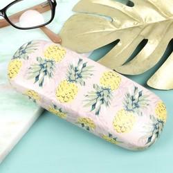 Vintage Style Pineapple Glasses Case