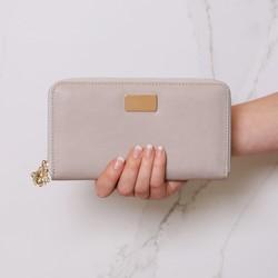 Stone Grey Wallet