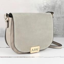 Personalised Engraved Cross Body Handbag