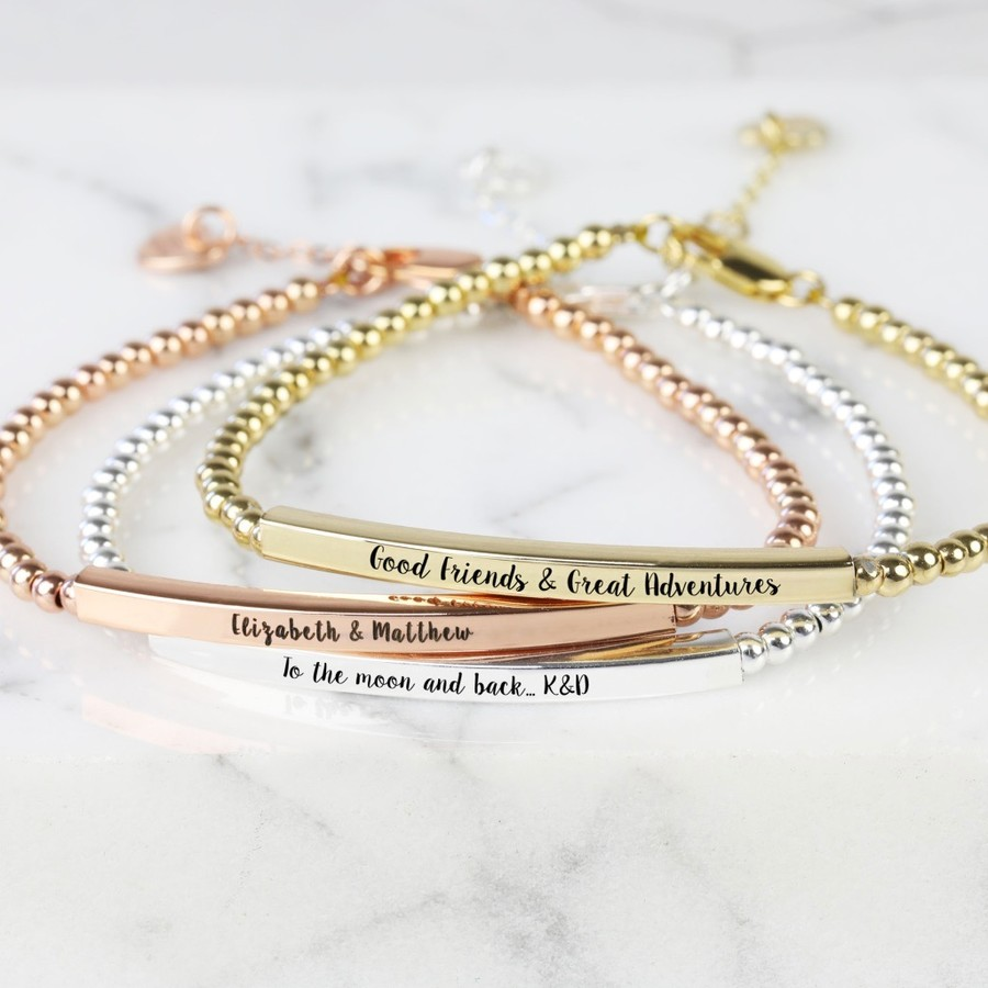 or gold bracelets brass bangle personalized bangles products silver cuffs custom