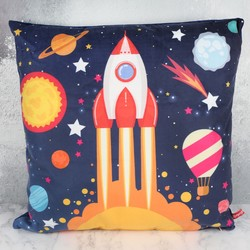 Temerity Jones Light Up Rocket Cushion