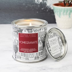 Pomegranate Scented Candle Tin
