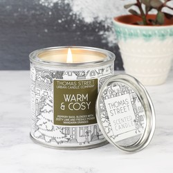 Warm & Cosy Scented Candle Tin