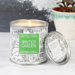 Winter Garden Scented Candle Tin