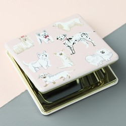 Watercolour Dogs Compact Mirror