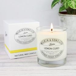 Wilkin & Sons Lemon Curd Scented Candle