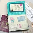 Disaster Designs ladies' 'Bon Voyage' travel wallet