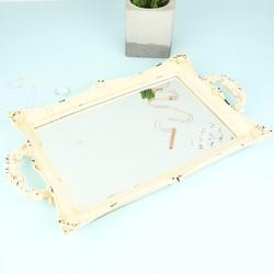 Mirrored Cream Tray