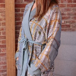 One Hundred Stars New York City Map Dressing Gown