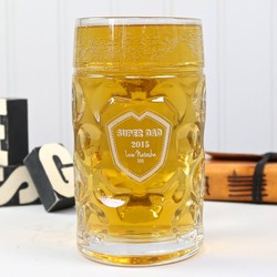 Personalised Engraved Giant Two Pint Beer Stein
