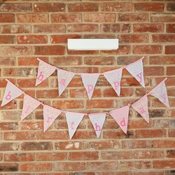 Sass & Belle Ditsy Floral Alphabet Bunting Flags