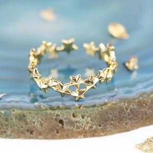 Delicate Star Ring In Gold