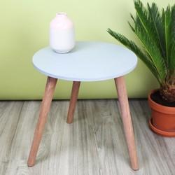 Large Concrete Effect Side Table