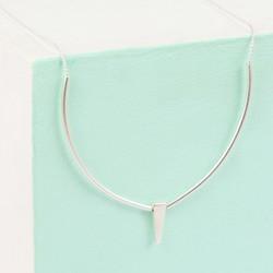 Delicate Triangle Pendant Necklace