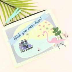 Disaster Designs Memento Beach Make Up Bag