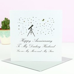 Five Dollar Shake 'Darling Husband...' Anniversary Card