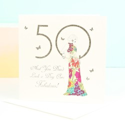 Five Dollar Shake '50' Birthday Card