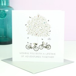 Five Dollar Shake 'Lifetime of Adventures' Wedding Card