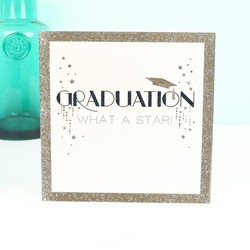 Five Dollar Shake 'What A Star' Graduation Card
