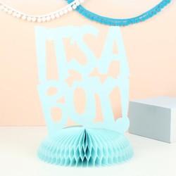'It's a Boy' Paper Decoration