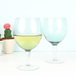 House Doctor Dusk Green Wine Glass