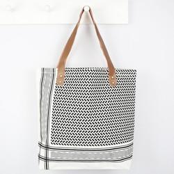 House Doctor Monochrome Shopper Bag