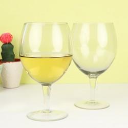 House Doctor Smoked Grey Wine Glass