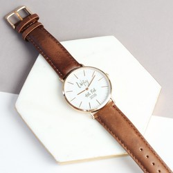 Personalised Engraved 'Wifey' Watch