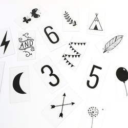 A Little Lovely Company 85 Light Box Numbers and Symbols