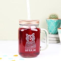 Personalised 'Baby Bear' Mason Jar