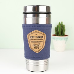 Scott and Lawson Stainless Steel Travel Mug