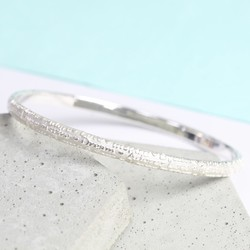 Sterling Silver Meaningful Words Bangle