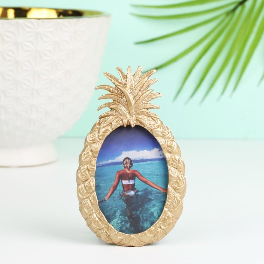 Sass Amp Belle Gold Pineapple Photo Frame Lisa Angel