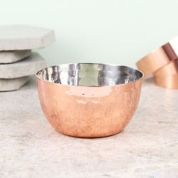 Sass & Belle Hammered Copper Bowl
