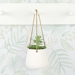 Sass & Belle Hanging Ceramic Planter