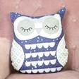 Sass & Belle Sleepy Starry Nights Owl Cushion