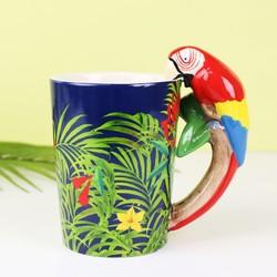 Sass & Belle Tropical Parrot Mug