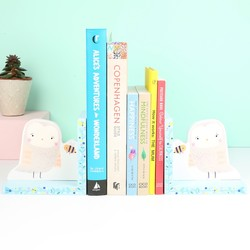 Woodland Friends Owl Bookends