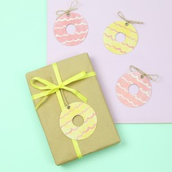Party Ring Biscuit Gift Tags