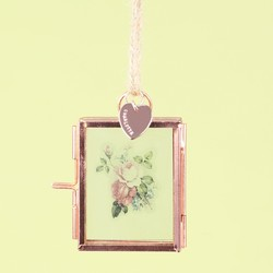 Personalised Mini Hanging Photo Frame