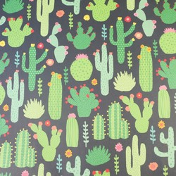 Sass & Belle Cactus Wrapping Paper
