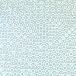 Geometric Turquoise Wrapping Paper