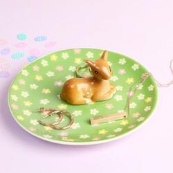 Ceramic Bambi Jewellery Dish