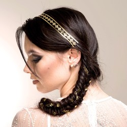 Metallic Hair Tattoo Set