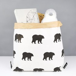Small Bear Print Sack