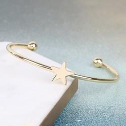 Gold Star Bangle